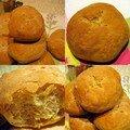 Les petits pains à la façon d'aurélie, d'elodie et de sandra... mais aux céréales