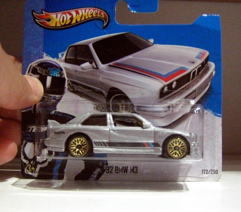 Bmw M3 de 1992 (Hotwheels)(2013)