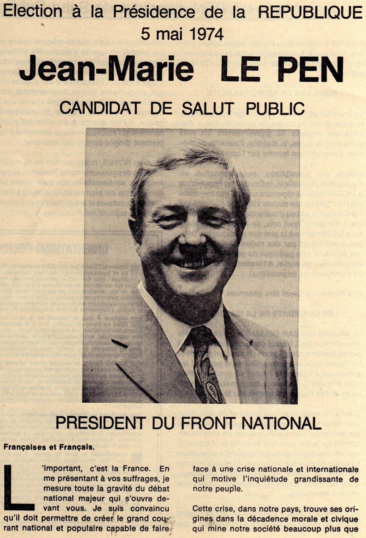 Le Pen 1974
