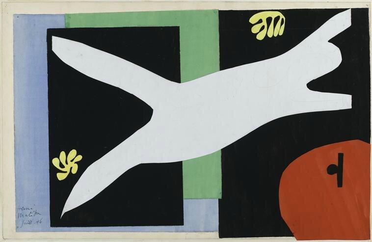 30 Matisse nageuse dnas l'aquarium