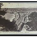 Nice - Entre les pins, prise du chateau - datée 1914