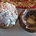Champignons farcis (beoseotjeon)