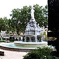 Fontaine, place Lyautey