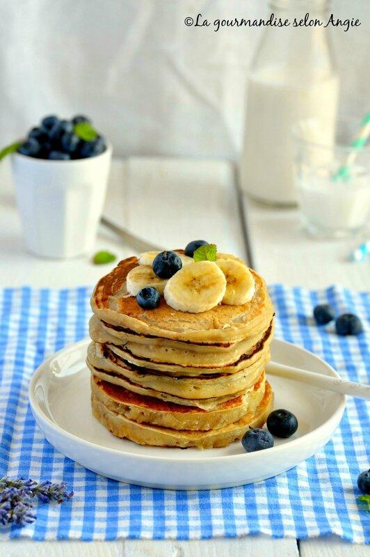 pancakes bananes vegan 2