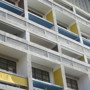 La Cité Radieuse Le Corbusier (6) J&W