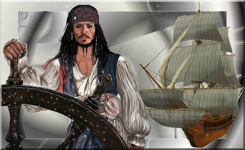 cadre pirate