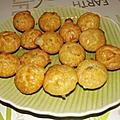 Muffins au saumon et chevre