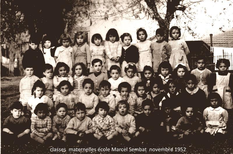 maternelles Marcel Sembat 1952 texte