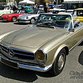 Mercedes 280 sl roadster 1967-1971