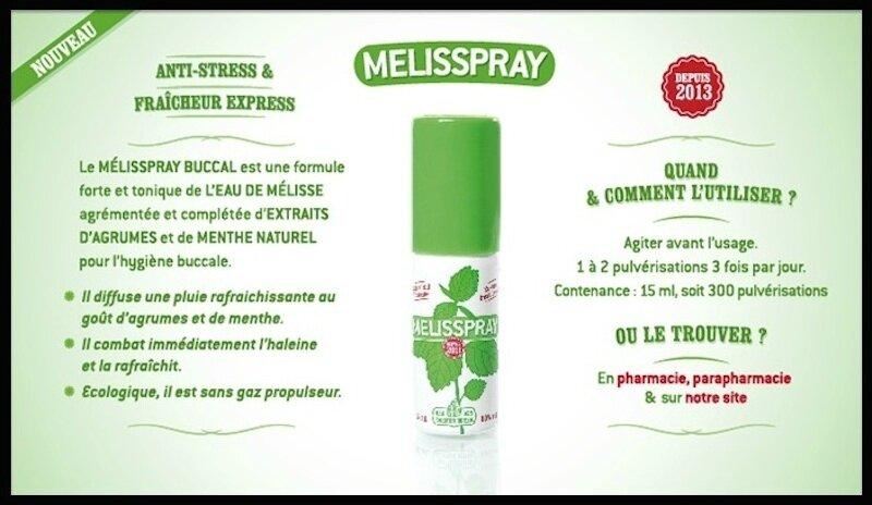 eau de melisse melisspray