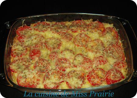Lasagnes courgettes-chèvre