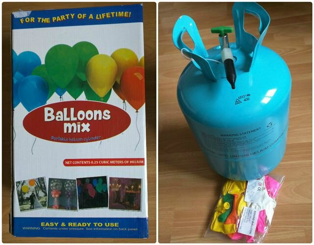 Kit Helium pas cher ©Kid Friendly