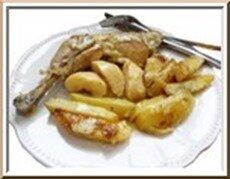 poulet-aux-deux-pommes-crme-et-curry