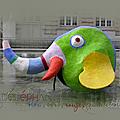 L'éléphant de la fontaine stravinsky à paris