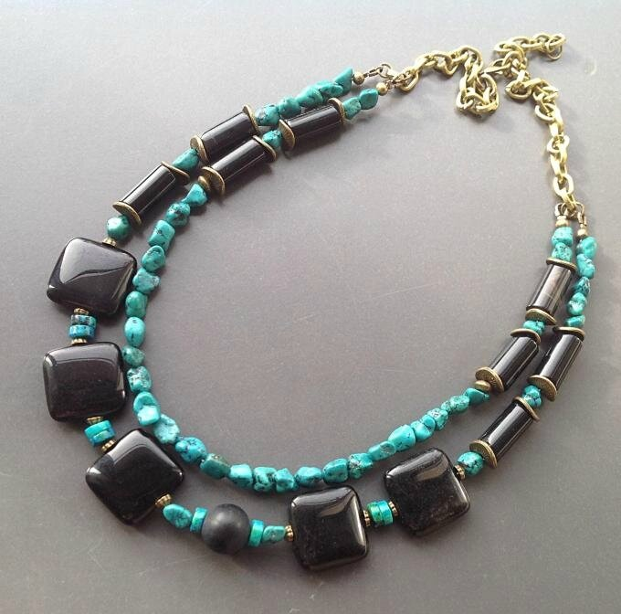 Two-Beaded-Strands-Necklace
