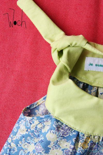 Woch - Ensemble robe bloomer Clémentine Liberty 3