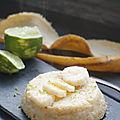 Moelleux banane citron vert
