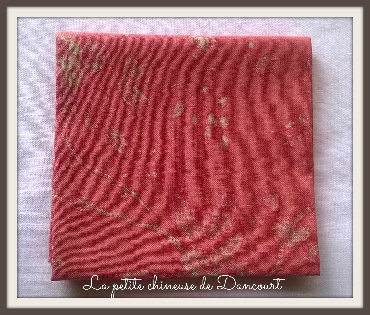 Mas d'Ousvan Anna rouge chambray red