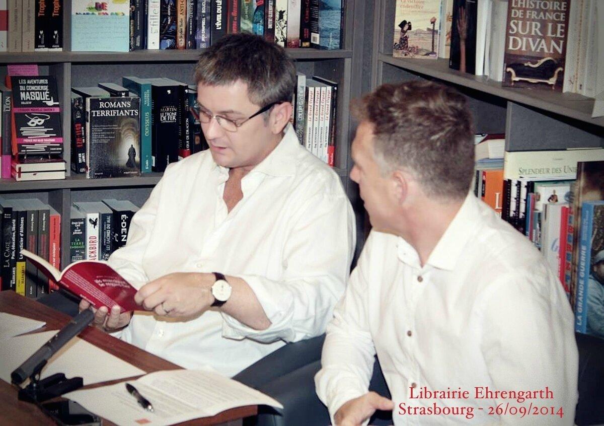 Marc Villemain - Strasbourg - Librairie Ehrengarth