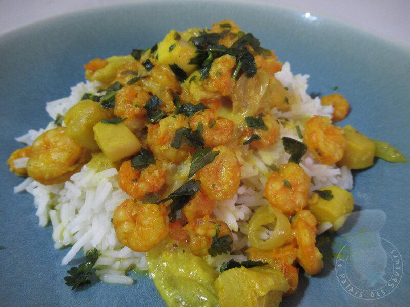 Curry jaune aux fruits de mer