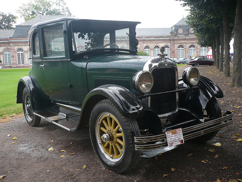 STUDEBAKER Standard Six Country Club Coupé 1926 Schwetzingen (1)