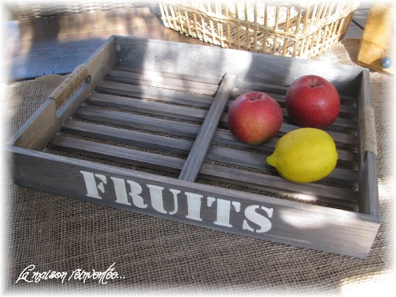 Clayette à fruits