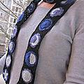 Cosmic skinny scarf...