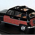 Renault 4 Parisienne noir rouge A 2