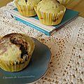 Muffins citron & chocolat