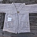 Veste kimono - Phildar n° 57