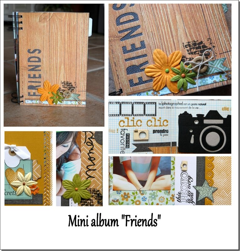 visuel mini album FRIENDS