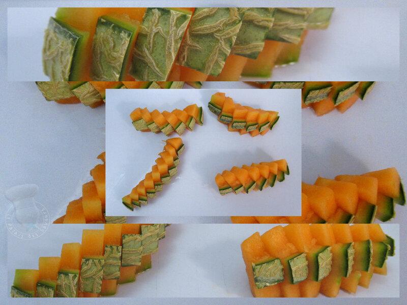 Découpe melon 1