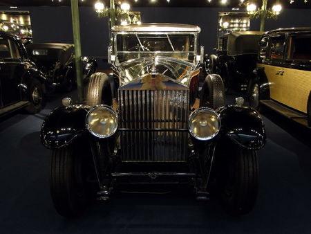 ROLLS ROYCE Phantom II Limousine 1930 Musée National de l'Automobile de Mulhouse, collection Schlumpf 1