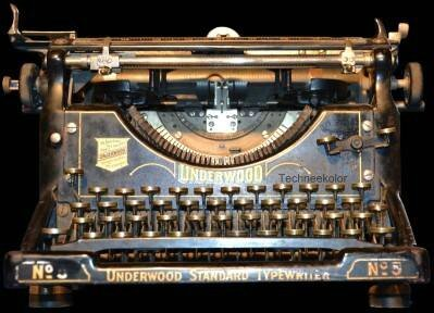 UNDERWOOD - MACHINE A ECRIRE ANCIENNE