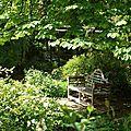 Notre balade dans les jardins de mon moulin se termine