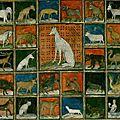 Les animaux au moyen-âge.