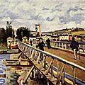 Sisley, pont d'argenteuil