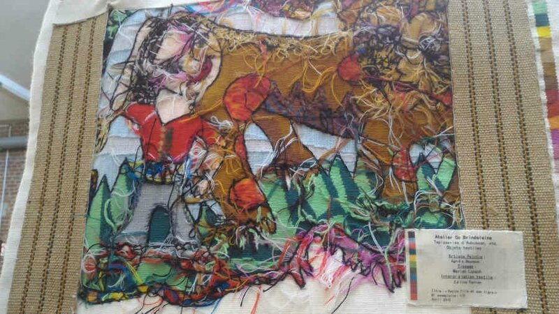 Céline Ferron artiste textile