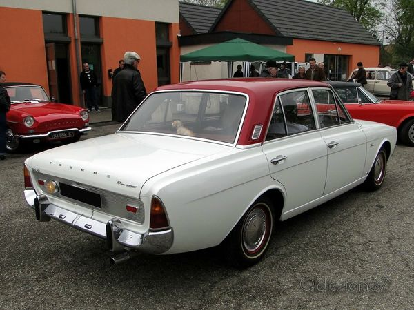 FORD Taunus 17M Super P5 4 portes 1964 1967 4