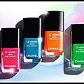 Le vernis à ongles neon - chanel