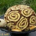 Gâteau tortue pour l'annif de vanessa