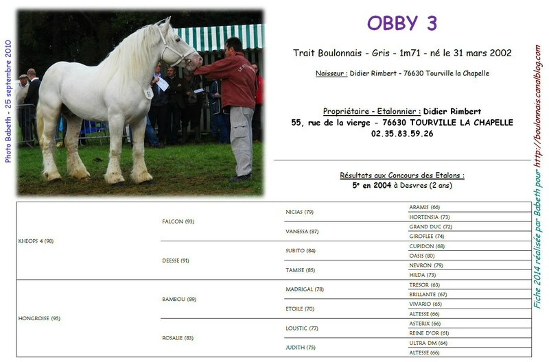 Fiche OBBY 3 2014