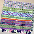 Foulard Tringle - Chèche 'Boho Hippie Chic'