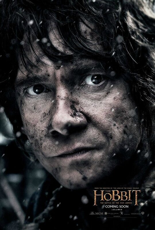 Bilbo The Hobbit The Battle of the five armies movie V2