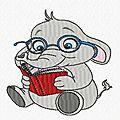 elephant lunettes