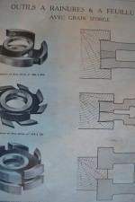 assemblages bois tenon a contre profil