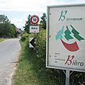 Bière, panneau (Suisse)