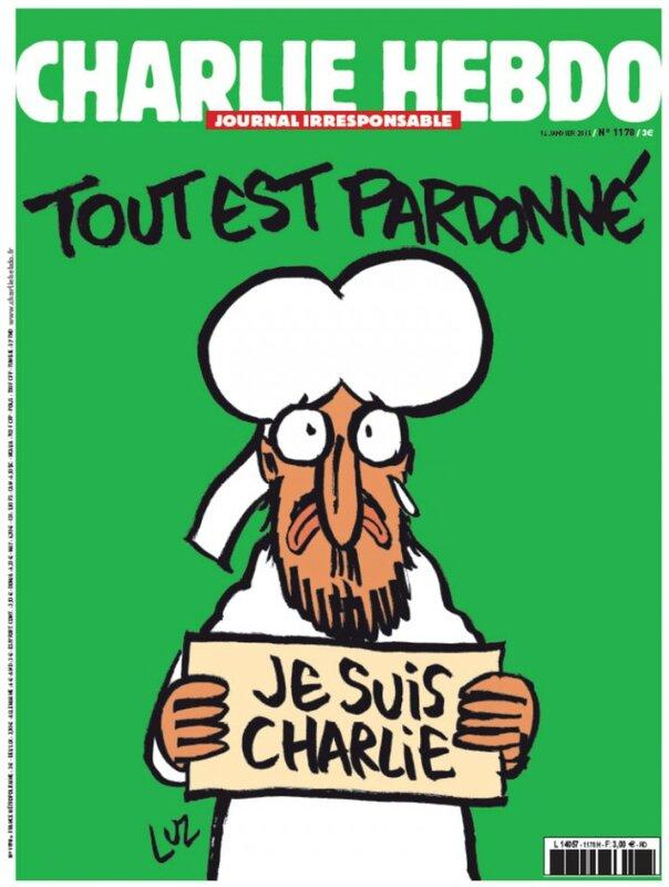 une charlie hebdo satirique 14 janvier 2015 numéro 1178