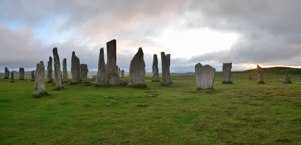 Les cercles de pierres de Callanish