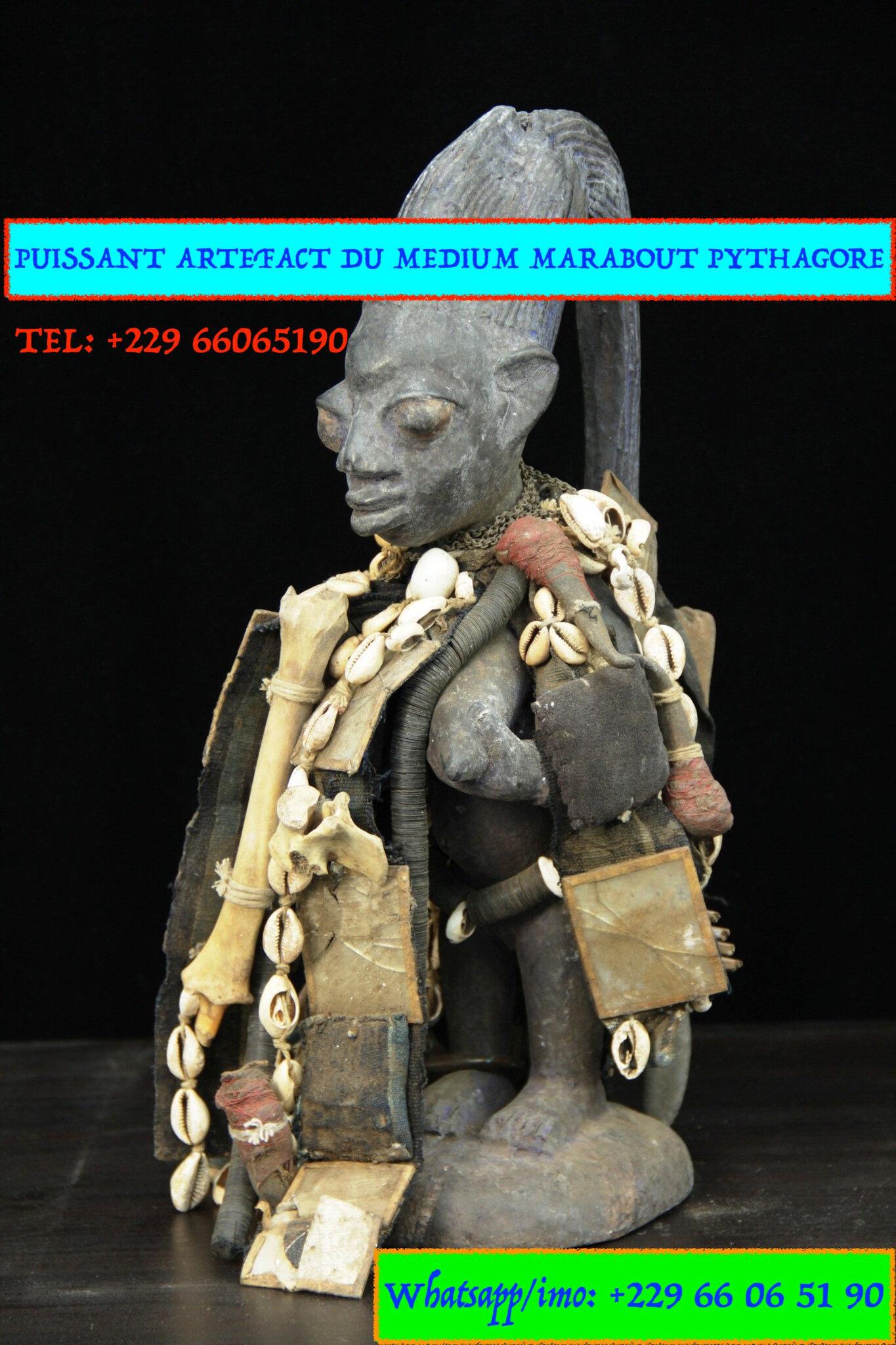 L'ARTEFACT MYSTIQUE D'ENVOÛTEMENT D'AMOUR 💓ET DE PROSPÉRITÉ 💰DU MÉDIUM MARABOUT SÉRIEUX PYTHAGORE